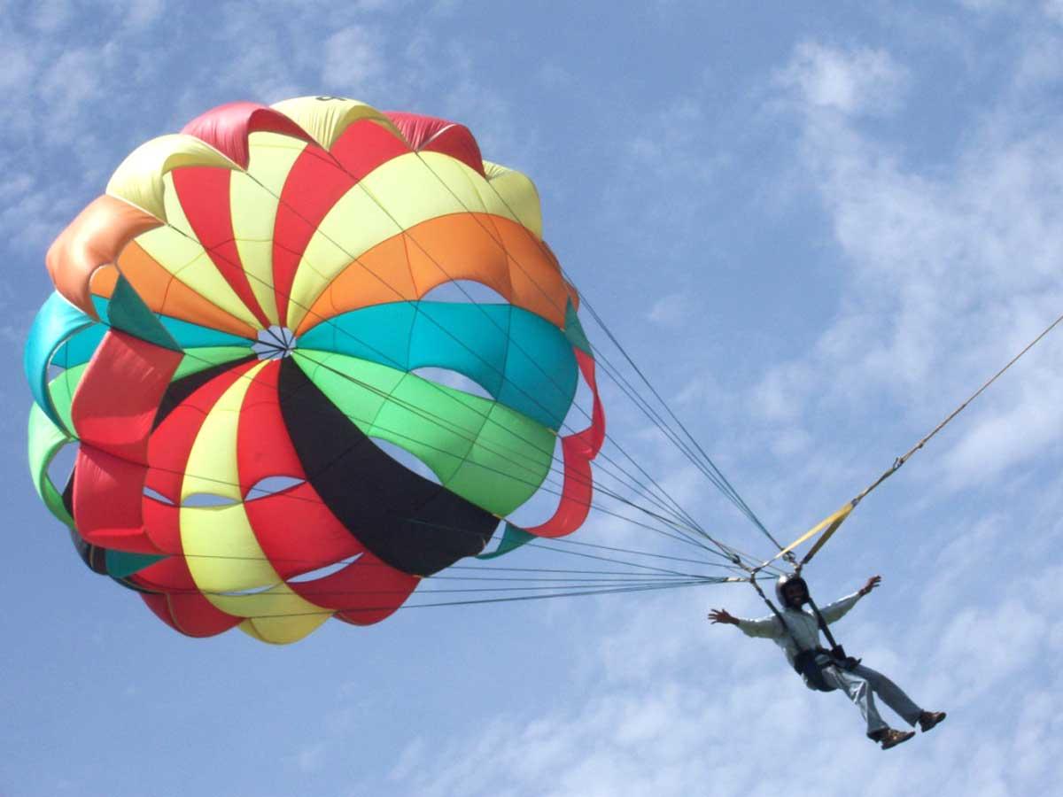 Полеты на воздушном шаре и прыжки с парашютом обяжут страховать